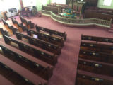 Pews View from Balcony
