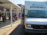 Bookmobile Visits School